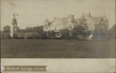 Oxford Spring House ME c1905 Real Photo Postcard