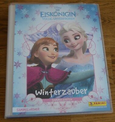 Panini Frozen Ice Queen Winter Magic Binder Solution Magazine Binder