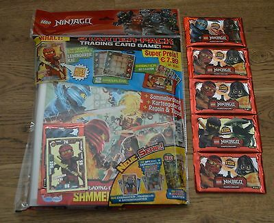Lego Ninjago™ Series 2 Trading Card Game 5 Booster + Starterpack New & OVP
