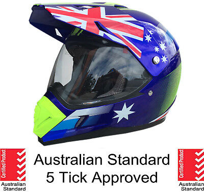 Dual sport motocross helmet dual purpose motorcycle full face helmet Dirt bike