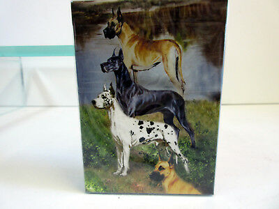 New Great Danes Dog Poker Playing Card Set of Cards by Ruth Maystead Dane GRD-PC