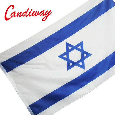 STAR ISRAEL National FLAG Jewish Star Israeli Country Banner Israel flag 3*5''