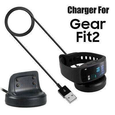 USB Magnetic Charger Dock Charging Cradle Station For Samsung Gear Fit 2 SM-R360