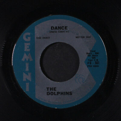 DOLPHINS: Dance / Pony Time 45 (dj, wol) Vocal Groups