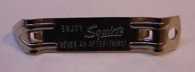 """Vintage Squirt Bottle & Can Opener """"Never an After Thirst"""""""