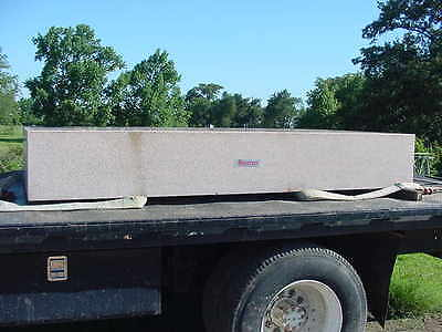 "Starrett Granite Surface Plate Crystal Pink Grade AA Lab. 113"" x 60"" x 16.5"""