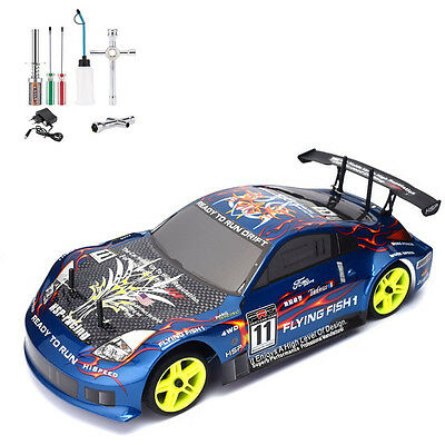 dr ft silver v8 rc car drift modellauto von sturmkind. Black Bedroom Furniture Sets. Home Design Ideas