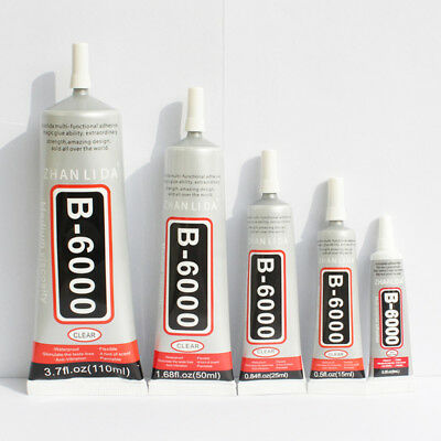 B7000 Glue Industrial Strength Super Adhesive Clear Liquid B-7000 Glue