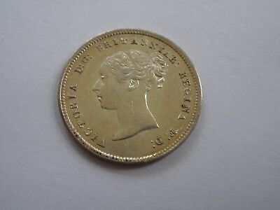 1851 Queen Victoria Maundy Fourpence - Uncirculated - Uk Post Free