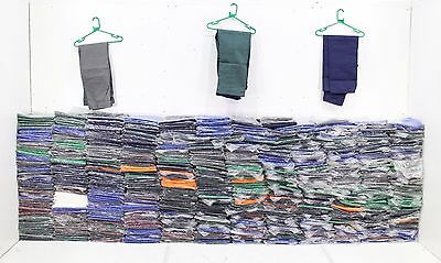 NEW Pallet Job Lot 800 + Pairs British Made Work Trousers Good Mix Size & Colour