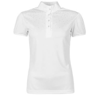 Just Togs Womens Mystique Show Shirt Top Competition Swarovski Equestrian