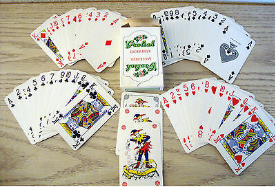 Deck of Playing Cards, Made in Belgium, Grolsch Lager Beer