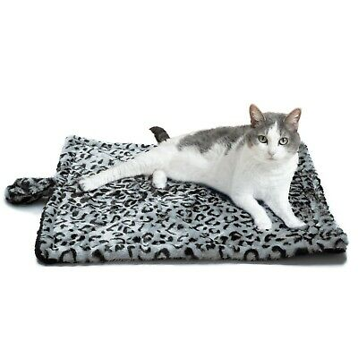 Cat Self Warming Pet Bed Cushion Pad Dog Cat Cage Kennel Crate Soft Cozy Mat