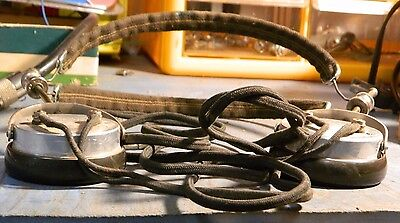Antique Brandes Superior Dynamic Headphones With Cord Tested and Working  USED