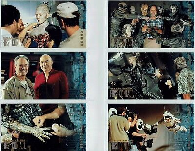 Star Trek First Contact Set Of 10 Behind The Scenes Cards