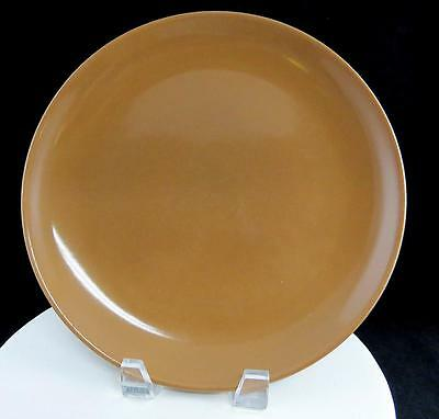 """Russel Wright Iroquois Casual Nutmeg Brown 10 1/8"""" Dinner Plate 1949-1964"""