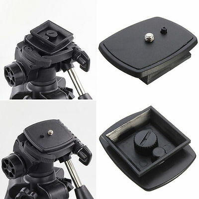Tripod Quick Release Plate Screw Adapter Mount Head For DSLR SLR Digital CameraB