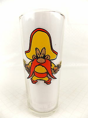 Pepsi Collector Series Glass Yosemite Sam 1973 Warner Bros #3198
