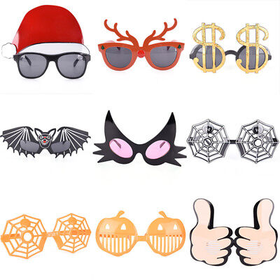 Funny Pumpkin Crazy Dress Glasses Costume Party Halloween Glasses Accessories