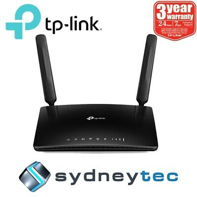 New TP-Link Archer MR400 AC1350 Wireless Dual Band 4G LTE Router