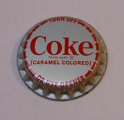 "VINTAGE COCA COLA ""Twist off""..plastic..unused..SODA BOTTLE CAP"