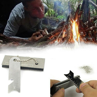 Magnesium Block Fire Starter Emergency Outdoor Survival Camping Tool Water proof