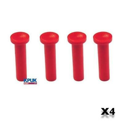 TONY KART OTK Side Pod Bar Red Pin Set of Four EVR EVK New Kart Parts UK