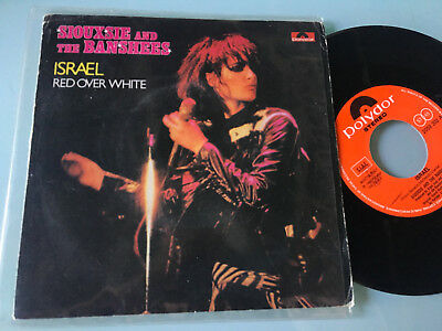 """7""""  Italy 1981 RARE  Siouxsie And The Banshees – Israel"""