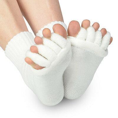 Warm Toe Spreading Wellness Socks Toe Separator Pedicure Hallux Valgus Foot