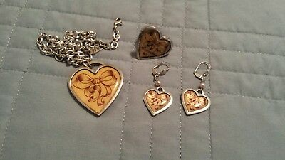 classic Hardware jewelry lot necklace ring earrings bows