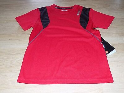 Boy's Size Medium 8 AND1 Red Black Basketball Court Champ Tee Shirt Top New