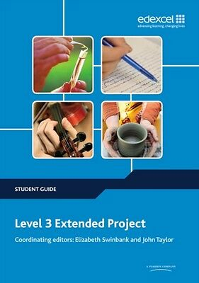 Level 3 Extended Project Student Guide (Project and Extended Project Guides) (P.