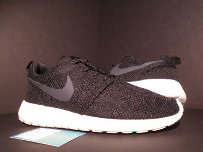 f965aefe39448 2013 Nike ROSHE RUN ROSHERUN BLACK ANTHRACITE GREY SAIL WHITE 511881-010  10.5