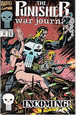 PUNISHER WAR JOURNAL #53 1993 MARVEL  by STAN LEE DIXON/DALEY-INCOMING-...NM-