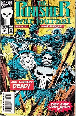 PUNISHER WAR JOURNAL #56 1993 MARVEL  by STAN LEE DIXON/DALEY -DEAD ALREADY..NM-