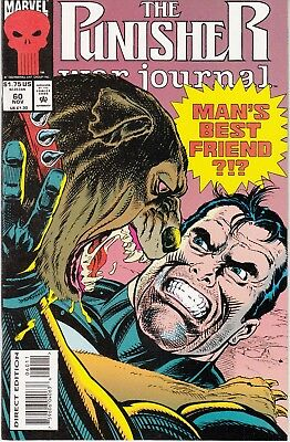 PUNISHER WAR JOURNAL #60 1993 MARVEL  by STAN LEE  DIXON/ DALEY -DOGGED-...NM-