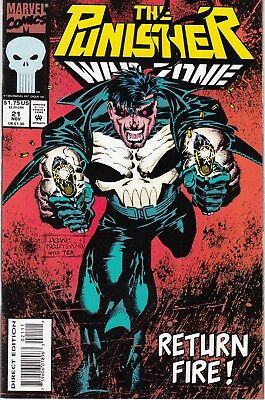 PUNISHER WAR ZONE #21 1993 MARVEL  by STAN LEE  HAMA/ DALEY -2-MEAN 2-DIE-...NM-