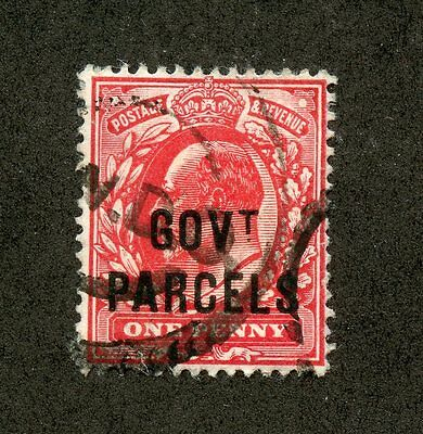 GREAT BRITAIN--Individual stamp Government Parcel Scott #39