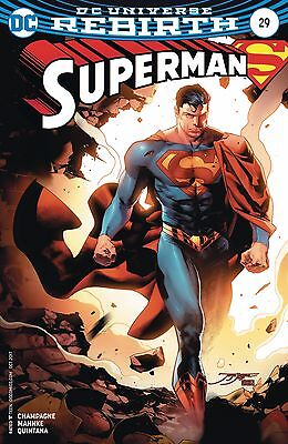 SUPERMAN #29, VARIANT, New, First print, DC REBIRTH (2017)