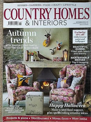 Country living magazine october 2017 in perfect clean for Where is the horseshoe in country living october 2017