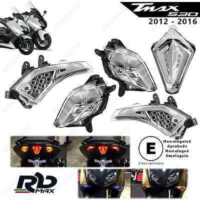 Indicators Led Rbmax Front Rear Tmax 530 '12-'16 E Light Led Approved