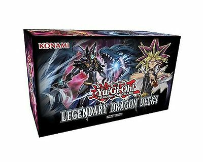 Yu-Gi-Oh Trading Card Game Legendary Dragon Decks Box Set New/Sealed