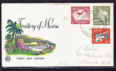 Nauru 1966 -WCS 10c First Day Cover Addressed