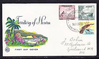 Nauru 1966 - WCS   -3c First Day Cover Addressed