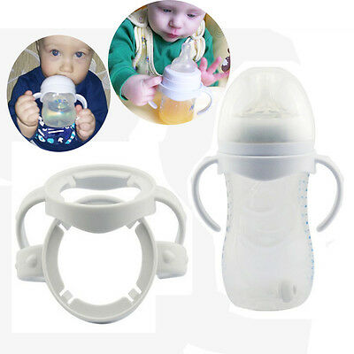 2pcs Bottle Grip Handle for Avent Natural Wide Mouth Feeding Bottle Accessories