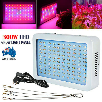 300W Full Spectrum LED Grow Light Bar Plants Veg Bloom Hydroponics Indoor Flower