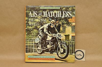 Vtg 1985 AJS Matchless History Of Postwar Models Single Twins HC Book By Bacon