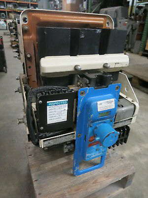 General Electric AK-2A-25-1 600A Electrically Operated 125VDC Air Breaker 2 A GE