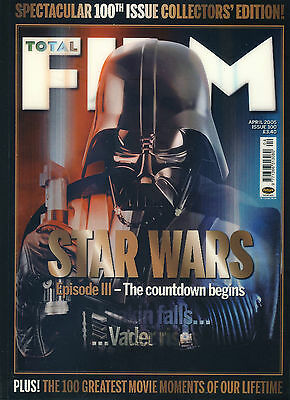 TOTAL FILM magazine #100 2005 100th Issue Collector's Edition STAR WARS ref10...