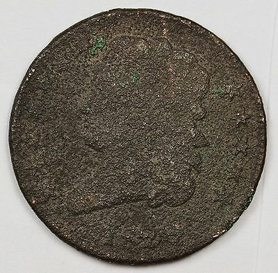 1828 Half Cent.  Circulated.  108730